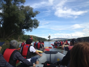 Boat trip on the Morava River