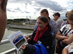 Field trip to hydropower plant